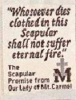 Back scapular
