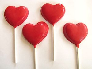 To Celebrate Today S Solemnity We Made Chocolate Heart Shaped Lollipops As A Treat Ll Be Going Holy Hour And Afterwards Stay For The