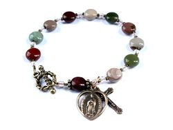Our lady of guadalupe bracelet
