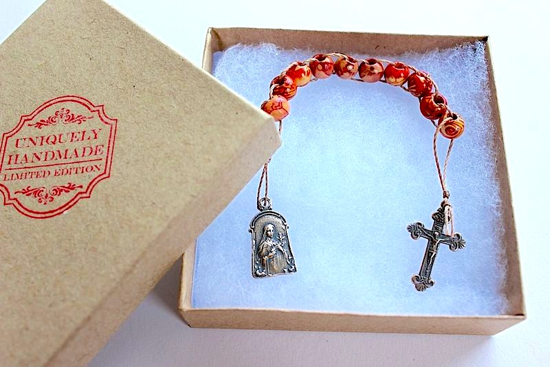 St therese sacrifice beads