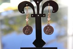 St gerard earrings