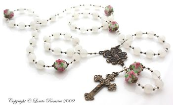 Mystical rose rosary