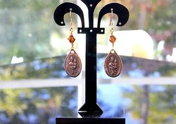 Mount carmel earrings