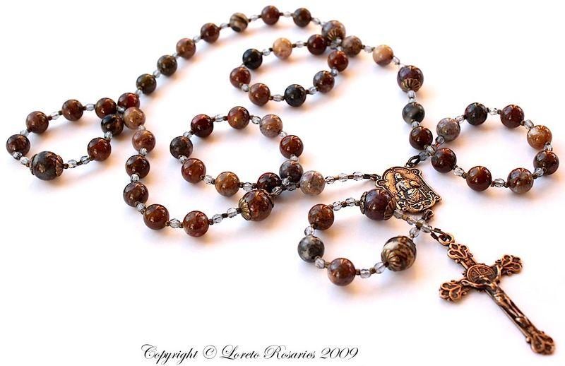 Pietersite rosary