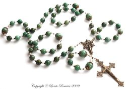 African jade rosary
