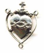 Open heart cross